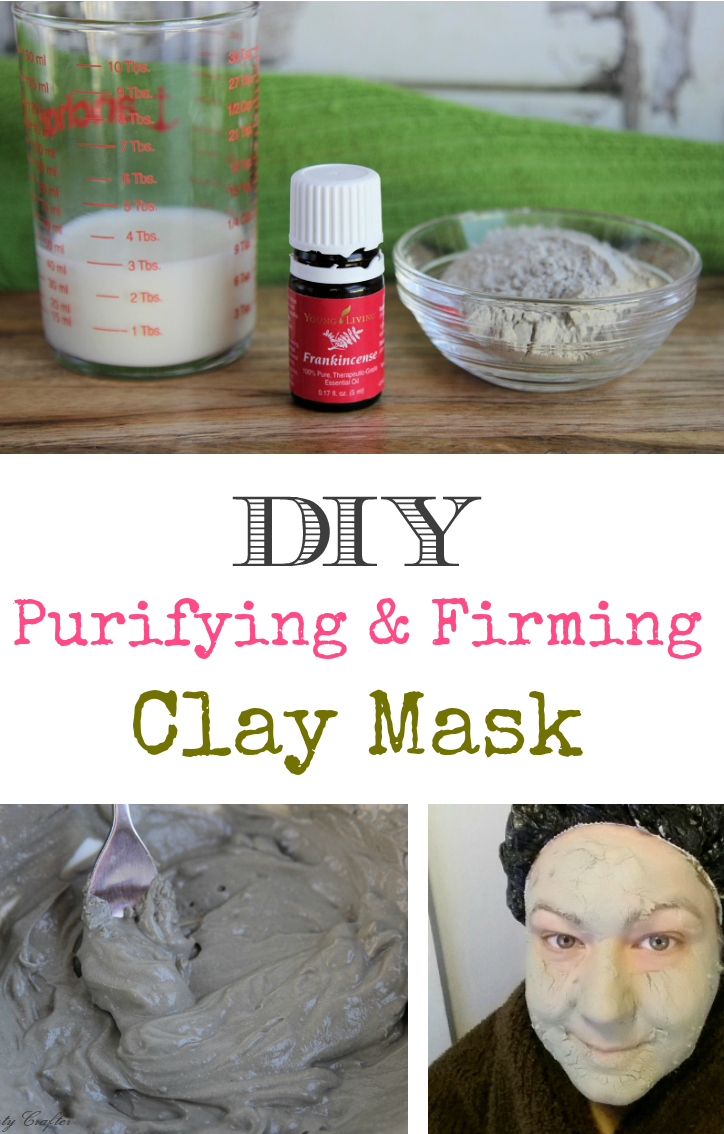 DIY Purifying & Firming Clay Mask #skincare #claymask #beauty
