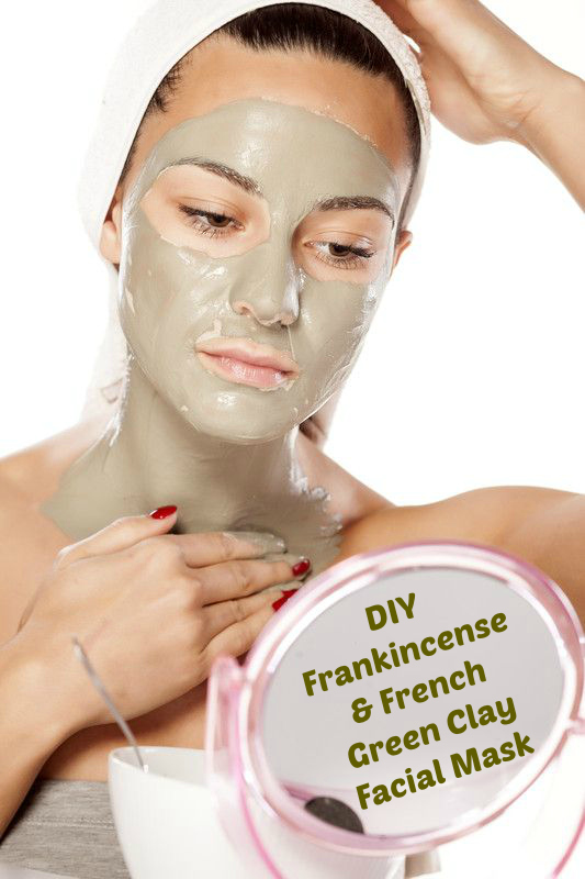 Frankincense & French Green Clay Mask