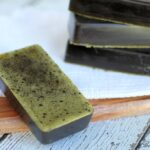 Homemade Green Tea Lemon Bar Soap