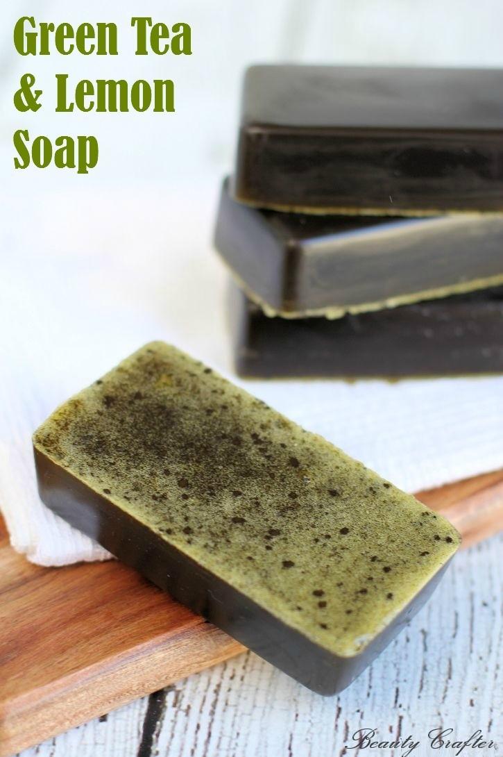 Lemon Green Tea Soap Recipe