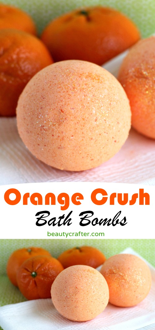 Orange Bath Bombs DIY