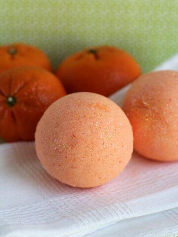 Therapeutic Orange Bath Bombs Recipe