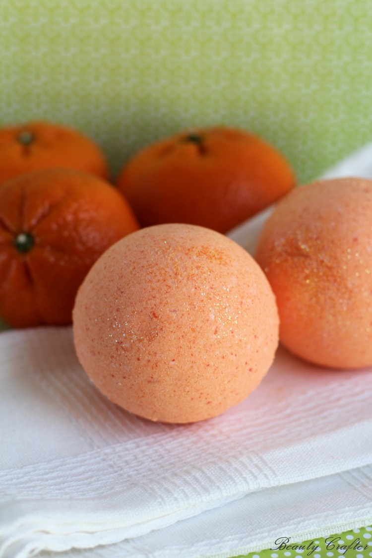 Therapeutic Orange Bath Bombs Recipe Beauty Crafter
