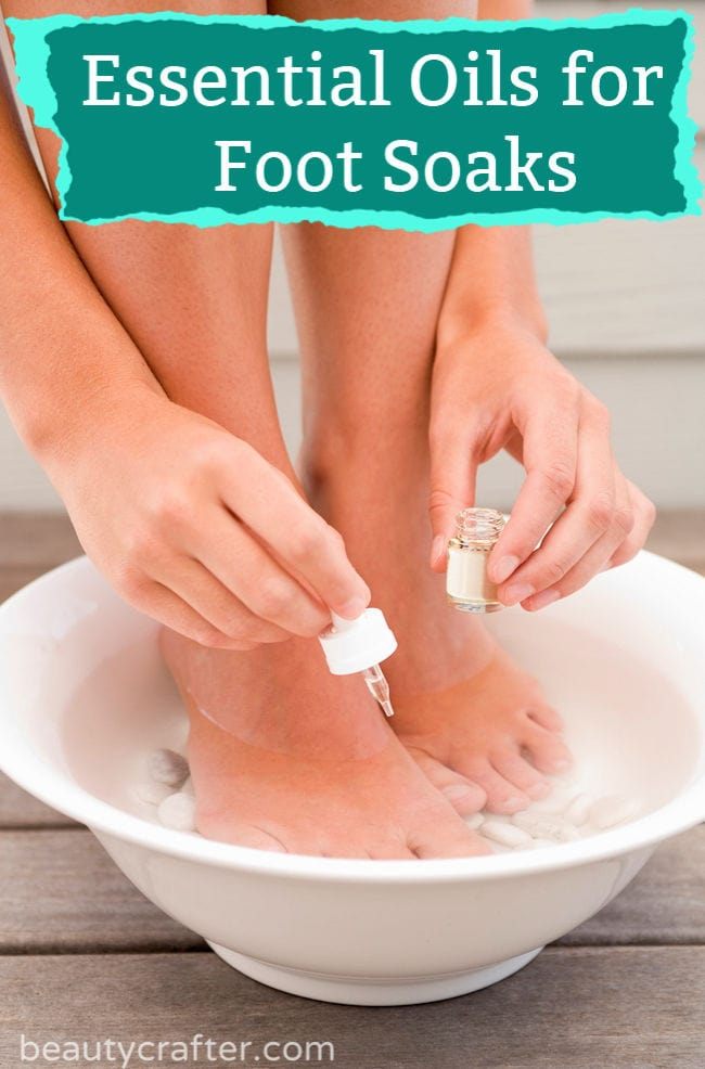 Essential Oils for Foot Soak
