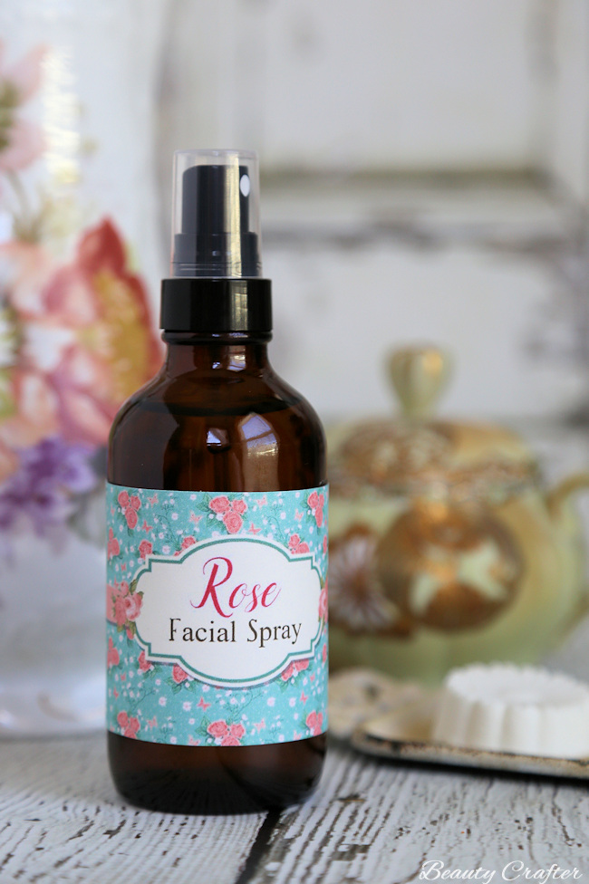 DIY Rose Face Spray