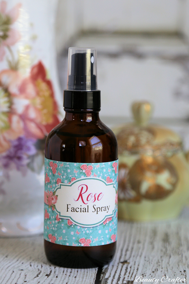 Rose Face Spray : DIY Moisturizing Facial Toner