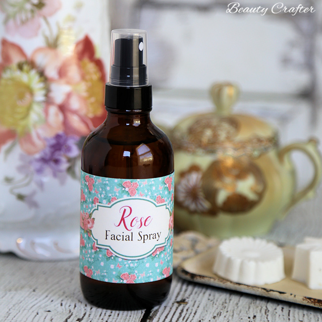 Rose Moisturizing Face Spray