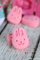 Easter Bath Bombs - pink bunny
