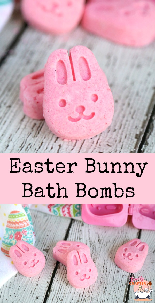Easter Bunny Bath Bombs Craft