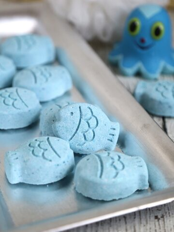 Fish Bath Bombs: DIY Bath Fizzies