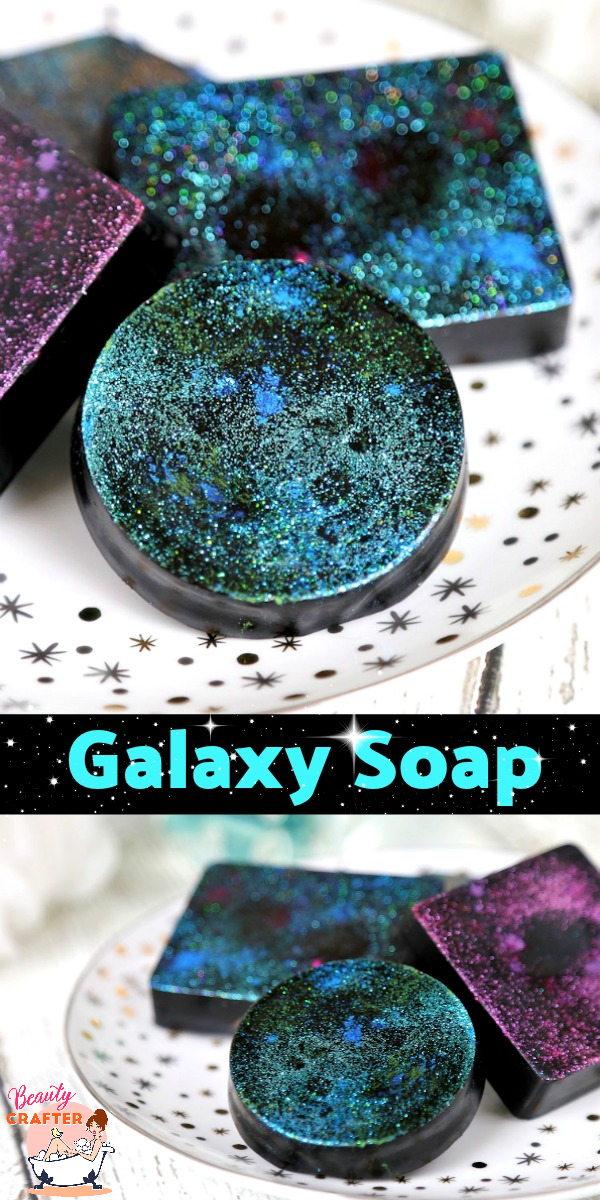 Galaxy Soap Pinterest
