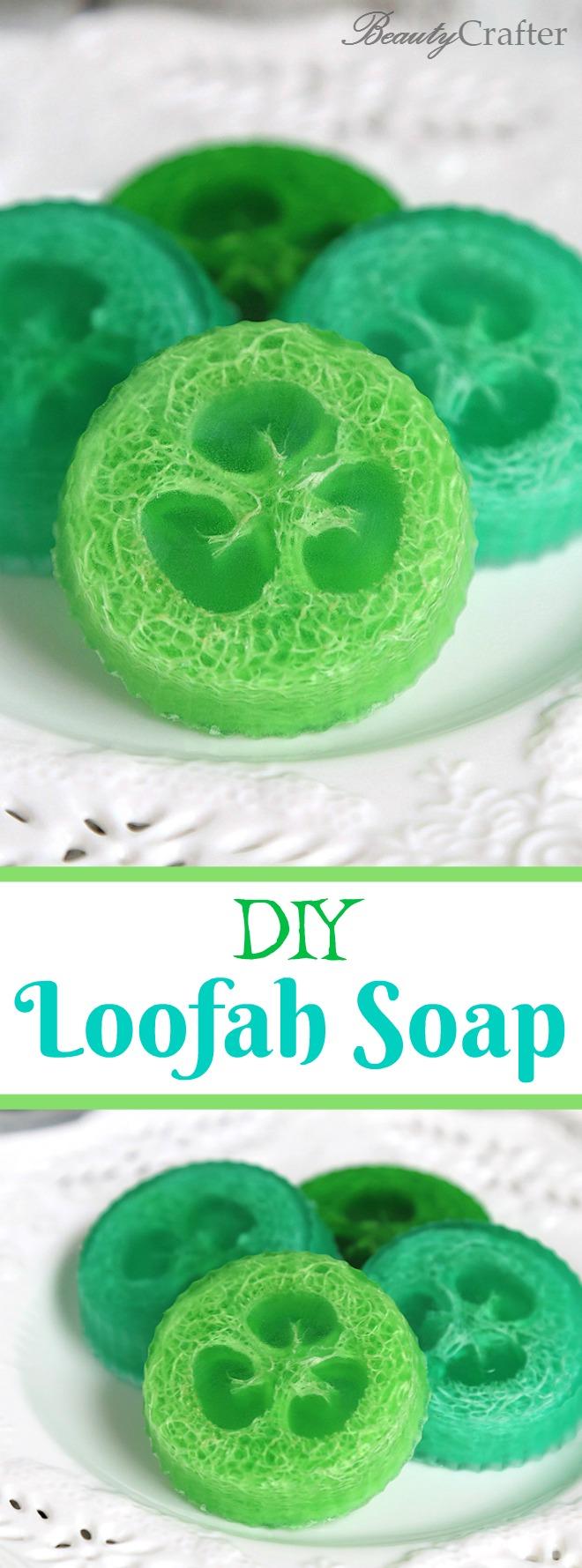 DIY Loofah Soaps