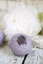 Oatmeal Lavender Bath Bomb