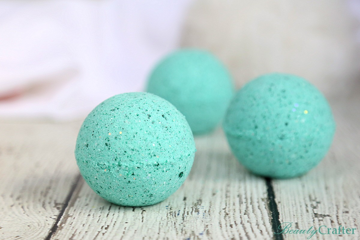 Mermaid Bath Bombs DIY