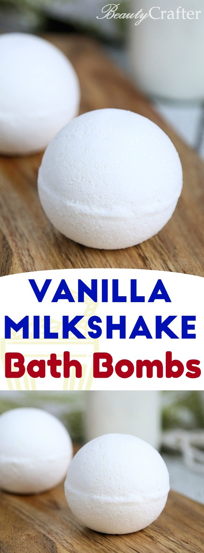 Milk Bath Bombs - easy bath bomb recipe, perfect for beginners.  Great for soothing skin as well.