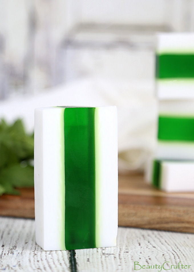 Vanilla Mint Soap Recipe