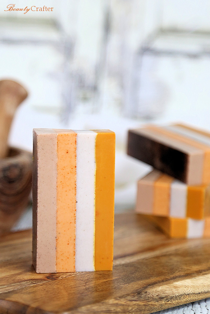 Spice Box Soap: Melt and Pour Soap with Natural Colors from the Kitchen