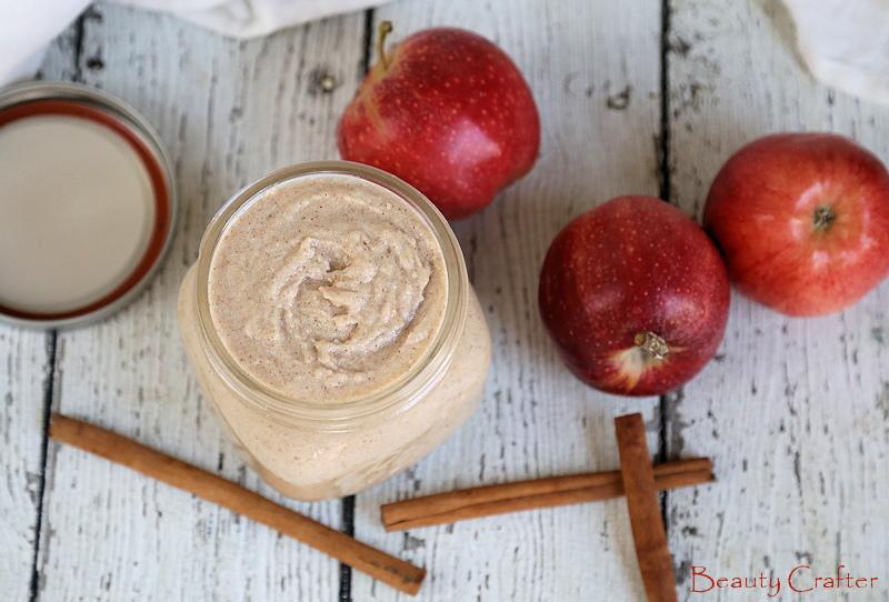 Apple Cinnamon Sugar Scrub DIY