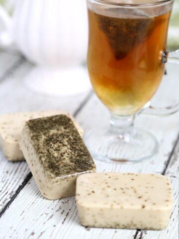 Chai Soap Recipe: DIY Goat's Milk Vanilla Chai Soap Bars