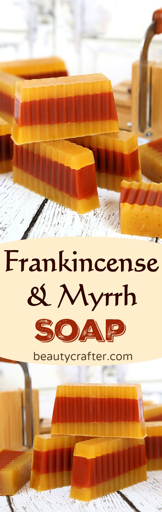 DIY Frankincense Myrrh Soap, what could be more appropriate as a holiday gift #christmas #frankincense #myrrh #gifts #soapmaking #soap #crafts