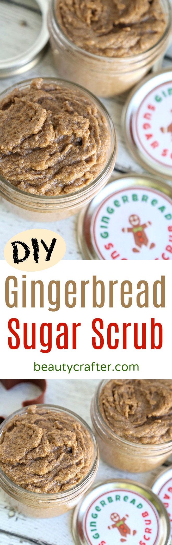 DIY Gingerbread Sugar Scrub recipe