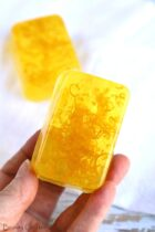 Lemon Soap Bar