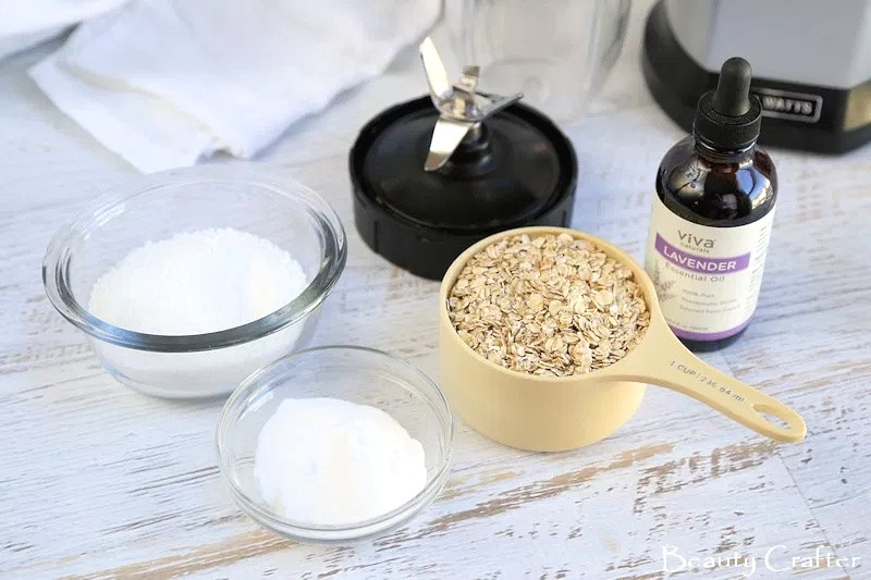 how to make oatmeal bath