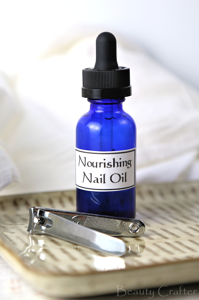 Best Nail Strengthener - DIY Nourishing Nail Oil - Beauty Crafter