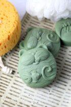 French Green clay soap - Sea clay soap