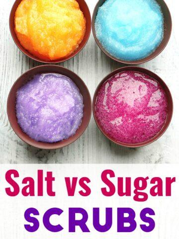 Salt Scrub vs. Sugar Scrub, which should you choose?