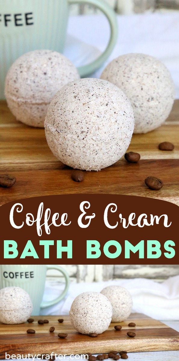 DIY coffee bath bomb