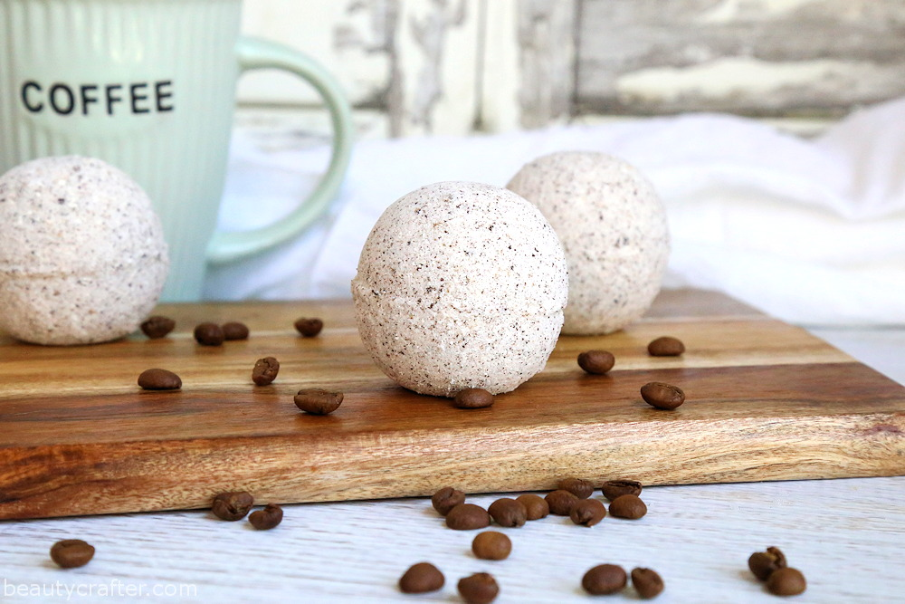 coffee bath bomb