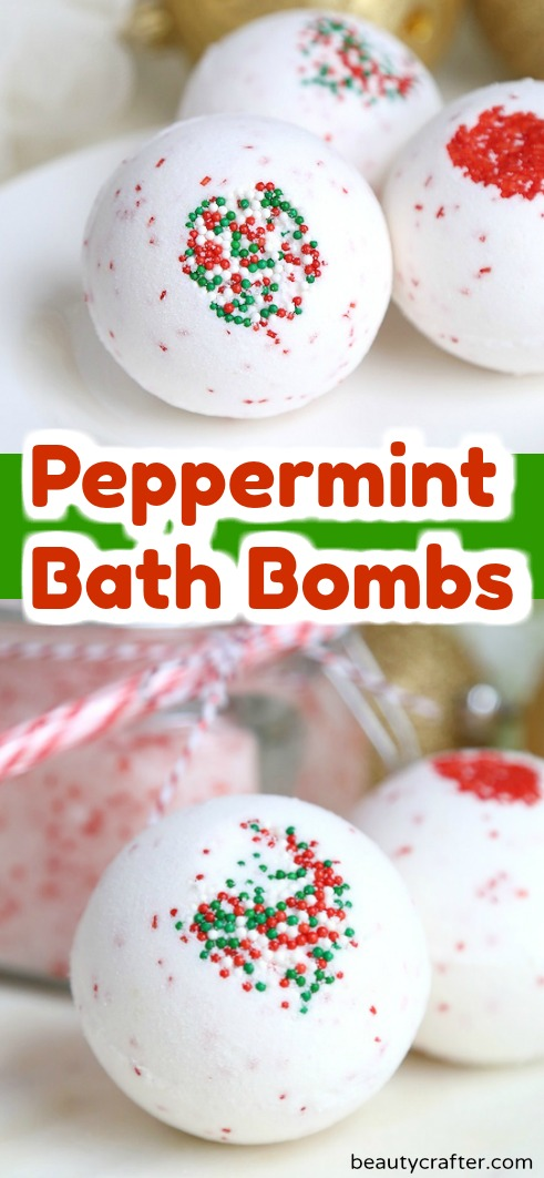 Peppermint Bath Bombs diy