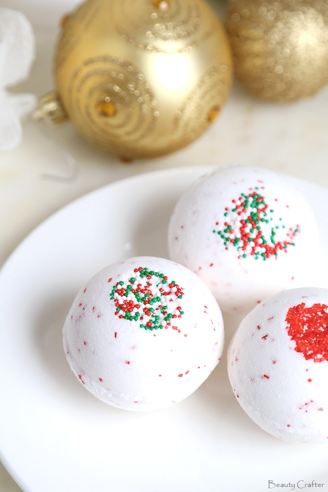 Peppermint Bath Bombs Recipe