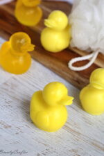 DIY Rubber Ducky Soap