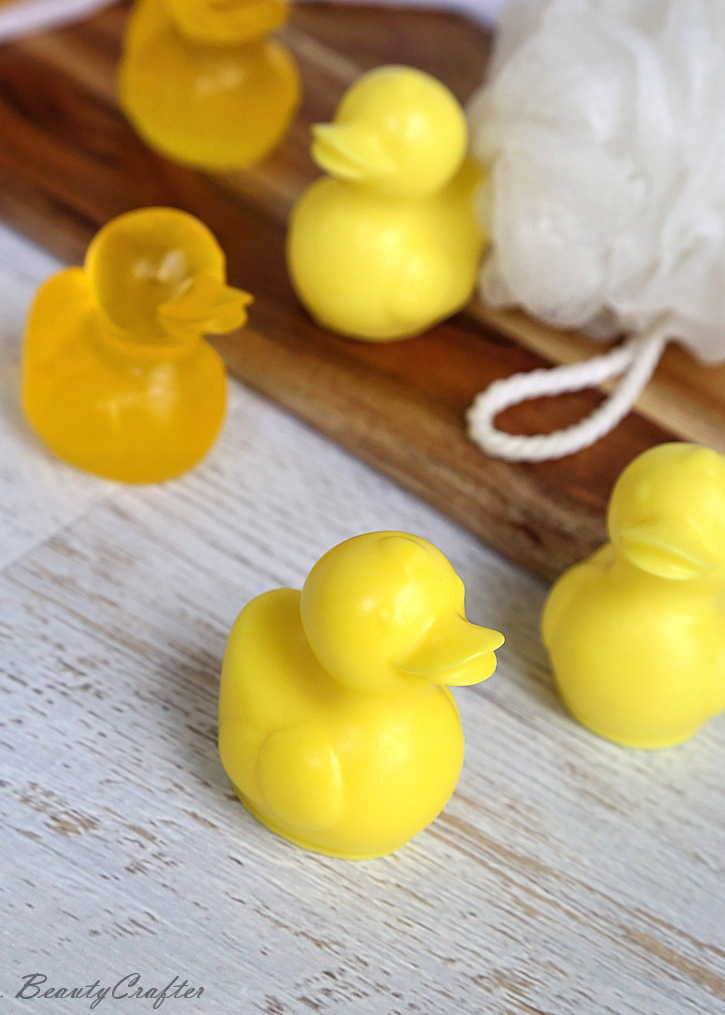 DIY Rubber Ducky Soap