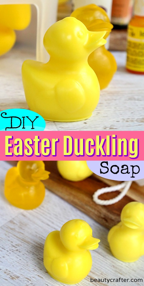 Duckling Soap - Easter Crafts