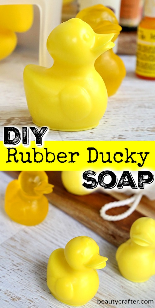 Rubber Ducky Soap DIY