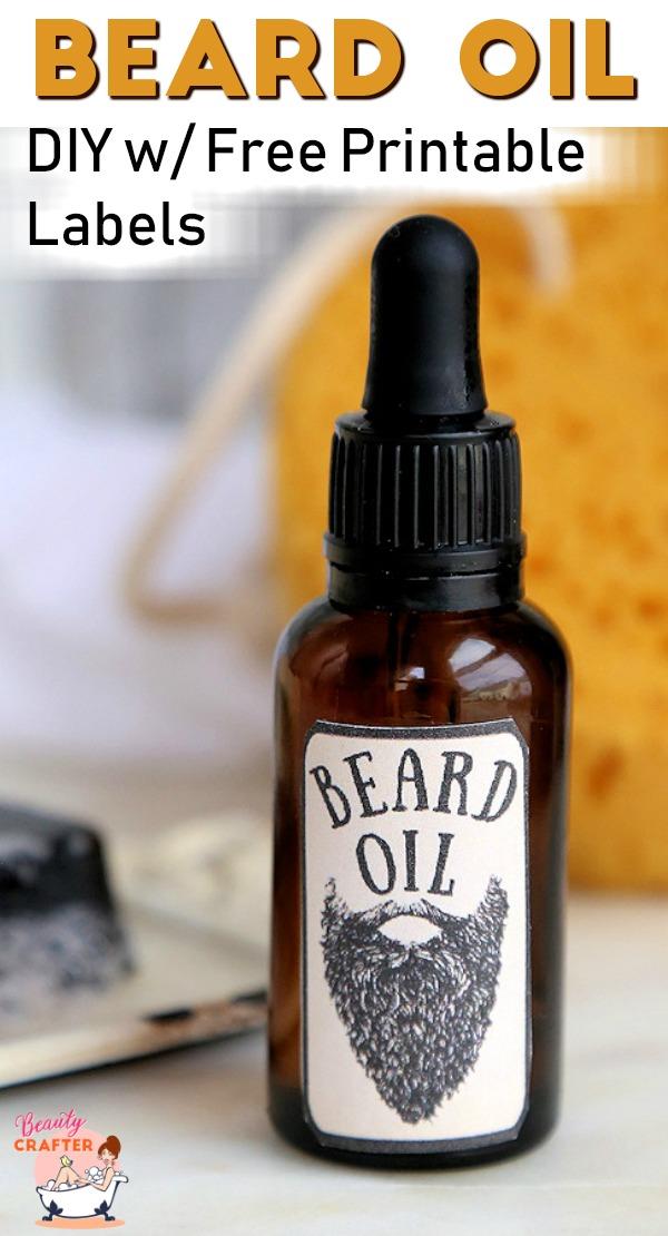 Beard Oil DIY