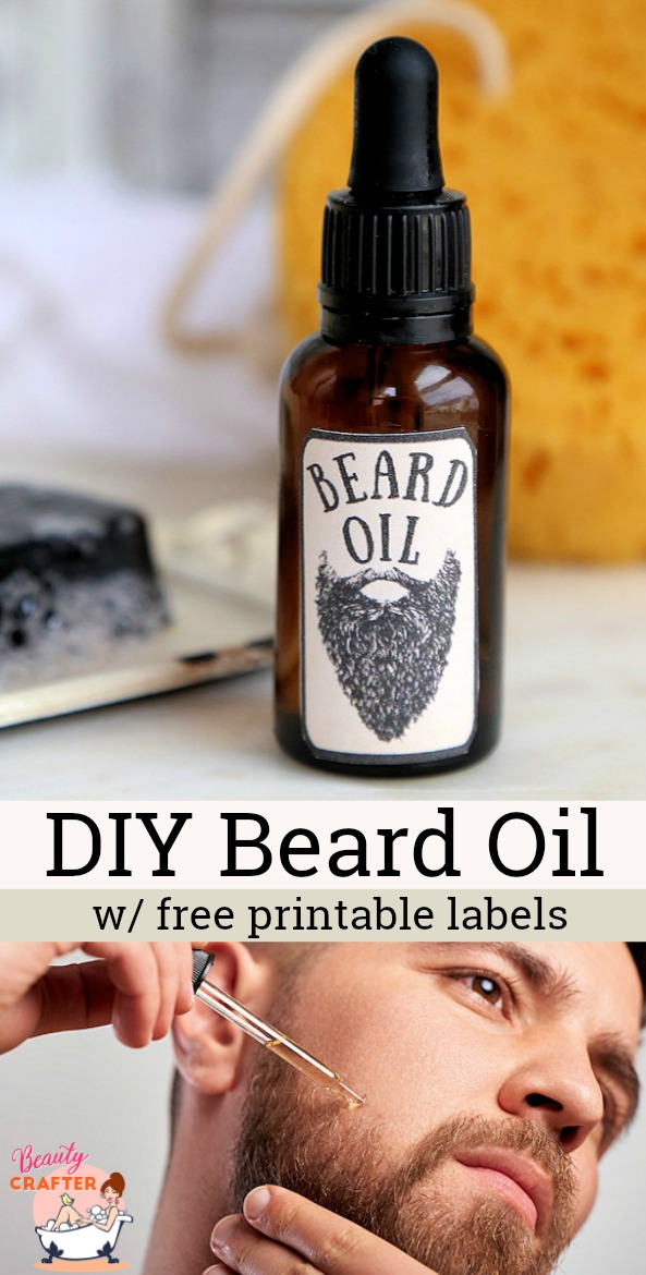 DIY Beard Oil Pinterest