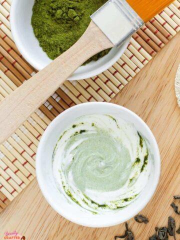 Green Tea Face Mask Benefits + 3 DIY Recipes