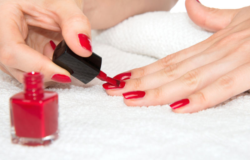 nail polish that stains