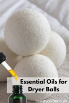 essential oils for dryer balls