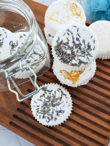 Shower Steamers with Essential Oils DIY
