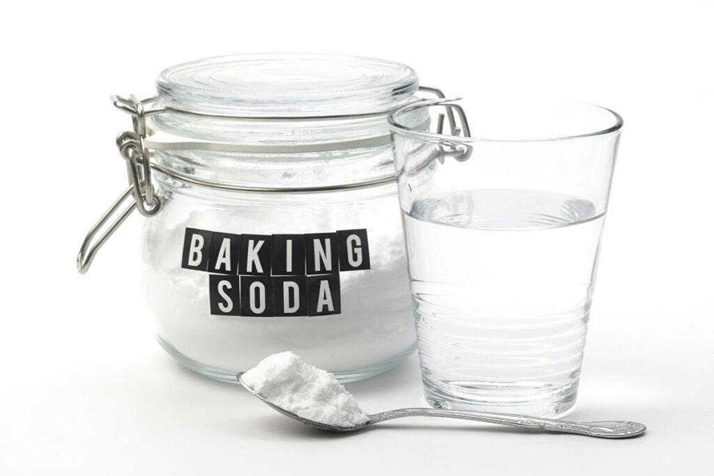 baking soda hair rinse.