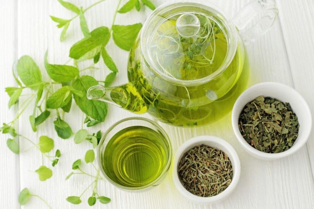 green tea hair rinse