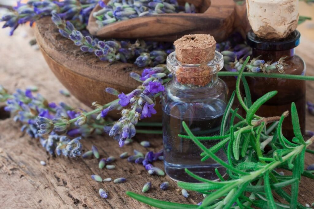 rosemary and lavender hair rinse.